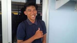 Ahmad Rajendra - Trial Persib Bandung