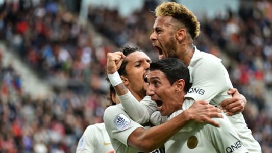 Neymar Angel Di Maria Rennes PSG Ligue 1 23092018