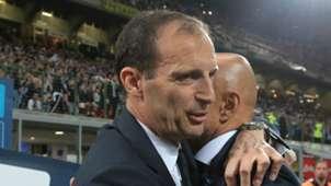 Luciano Spalletti Massimiliano Allegri Inter Juventus Serie A 04282018