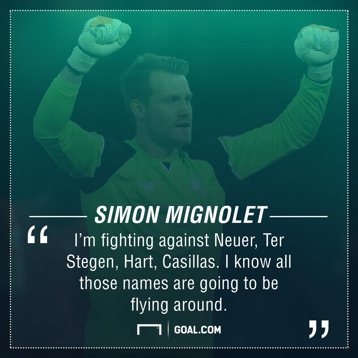 Simon Mignolet Liverpool