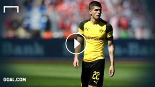 GFX Christian Pulisic Borussia Dortmund 05052018
