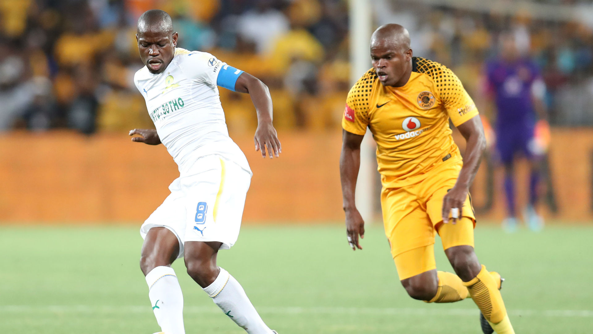 Hlompho Kekana and Willard Katsande - Kaizer Chiefs v Sundowns