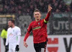 Nils Petersen SC Freiburg Werder Bremen Bundesliga 17022018