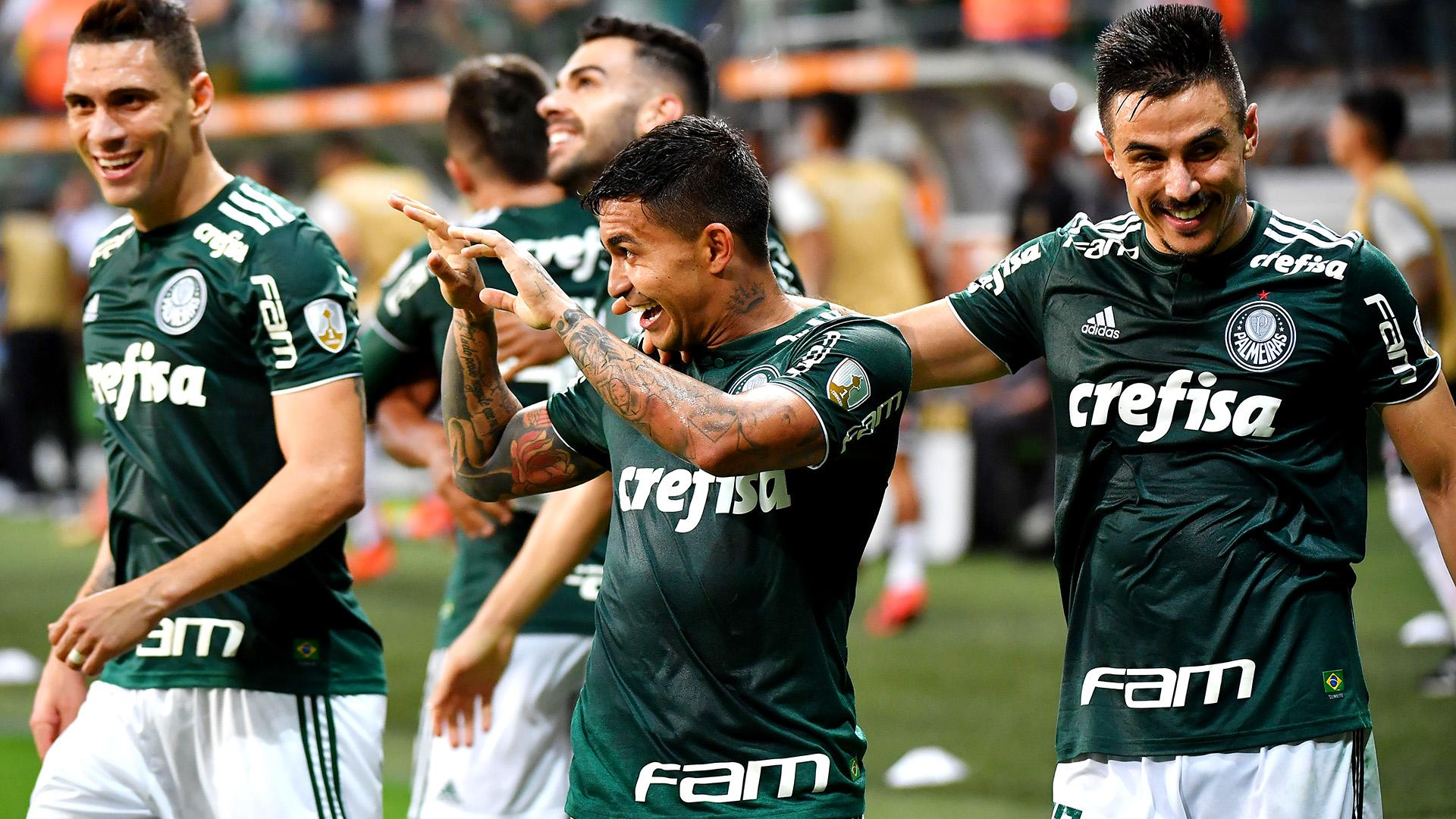Dudu Willian Moises Palmeiras Colo Colo Copa Libertadores 03102018