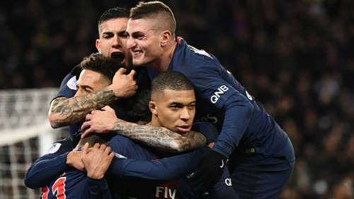 Kylian Mbappe PSG Marseille Ligue 1 17032019