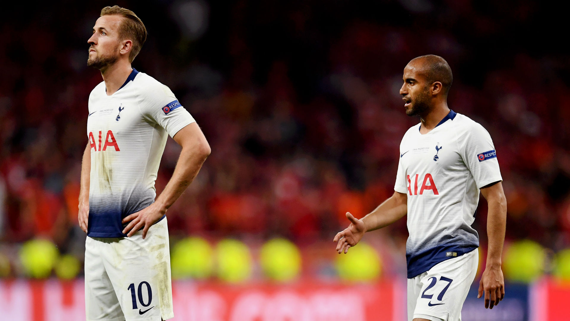Lucas Moura Tottenham Liverpool Champions League 01 06 2019