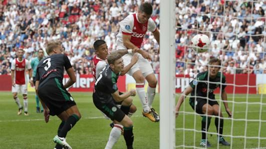 Klaas Jan Huntelaar Ajax - FC Groningen Eredivisie 08202017