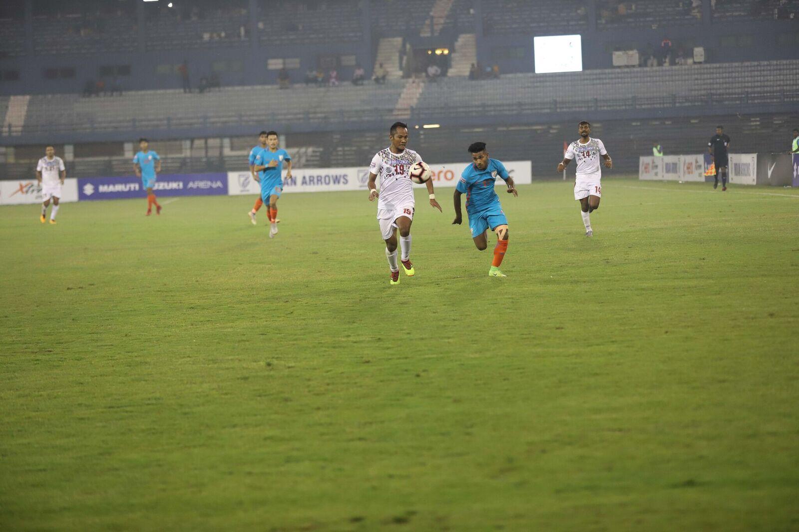 Mohun Bagan vs Indian Arrows Rahul KP Lalchhawnkima