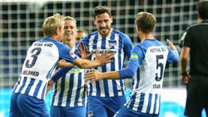 Mathew Leckie Hertha Berlin Bayer Leverkusen
