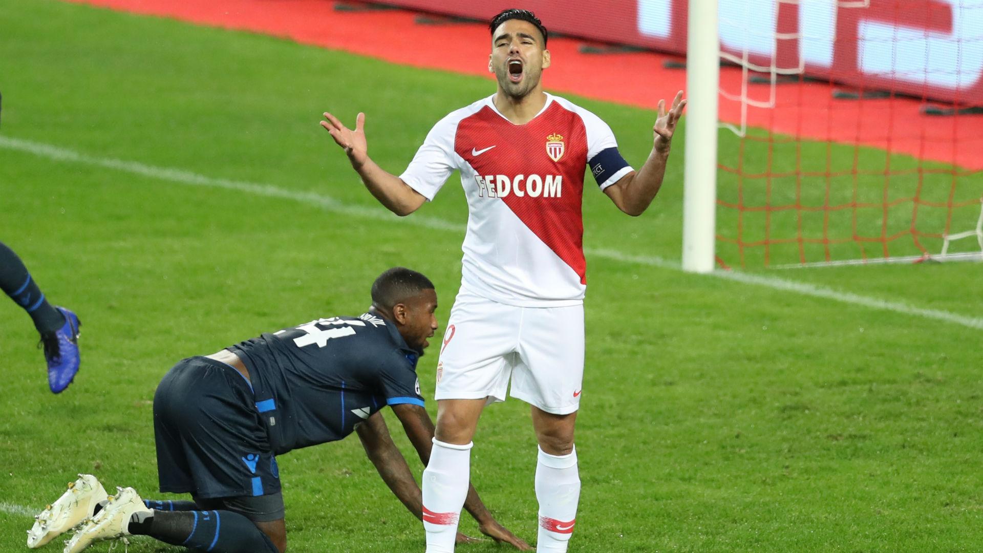 Radamel Falcao Monaco Bruges