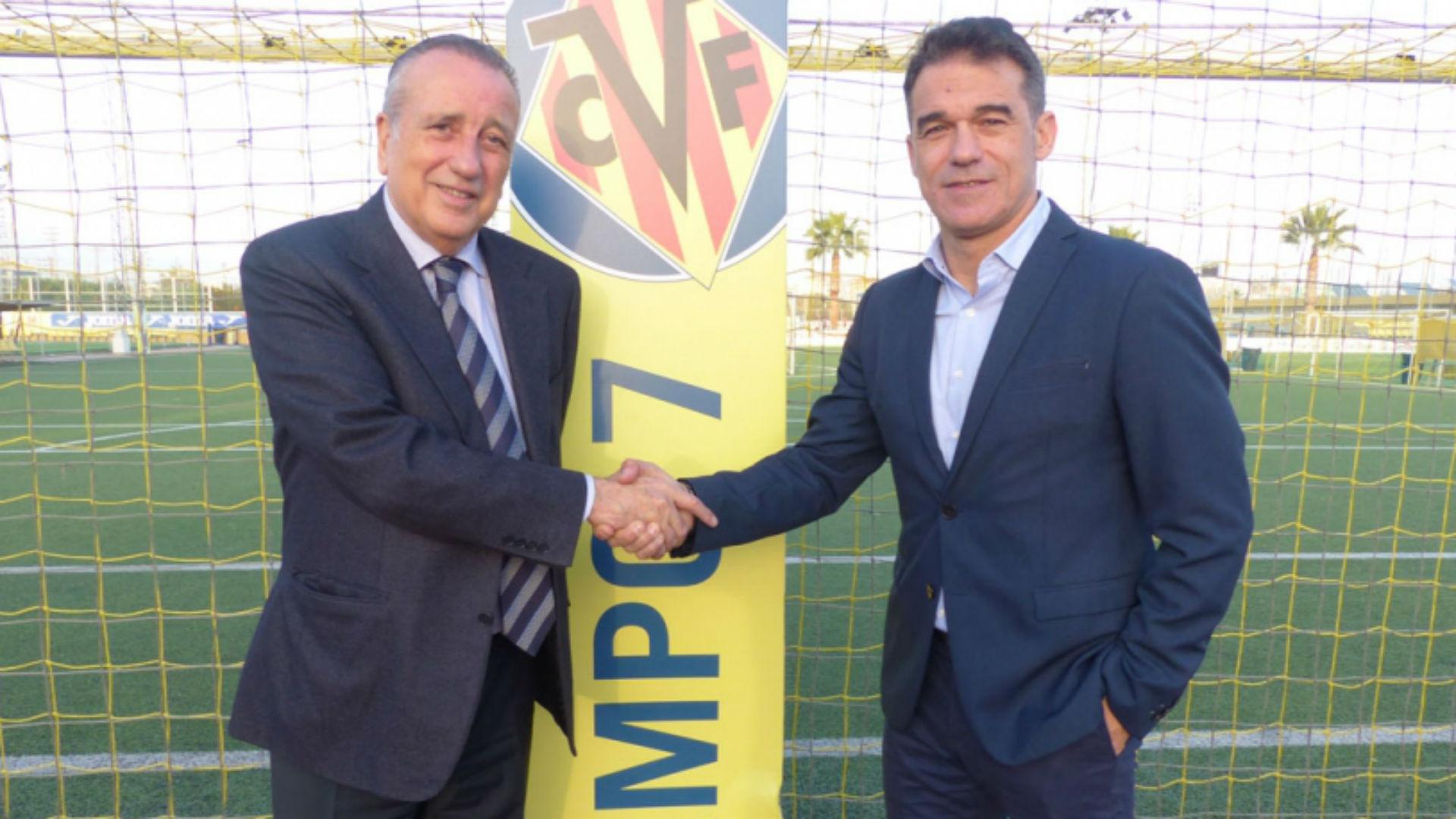 Luis García, nuevo entrenador del Villarreal