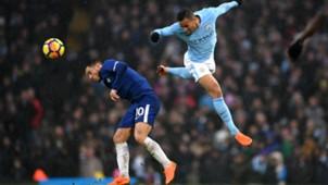 Eden Hazard Chelsea Danilo Manchester City