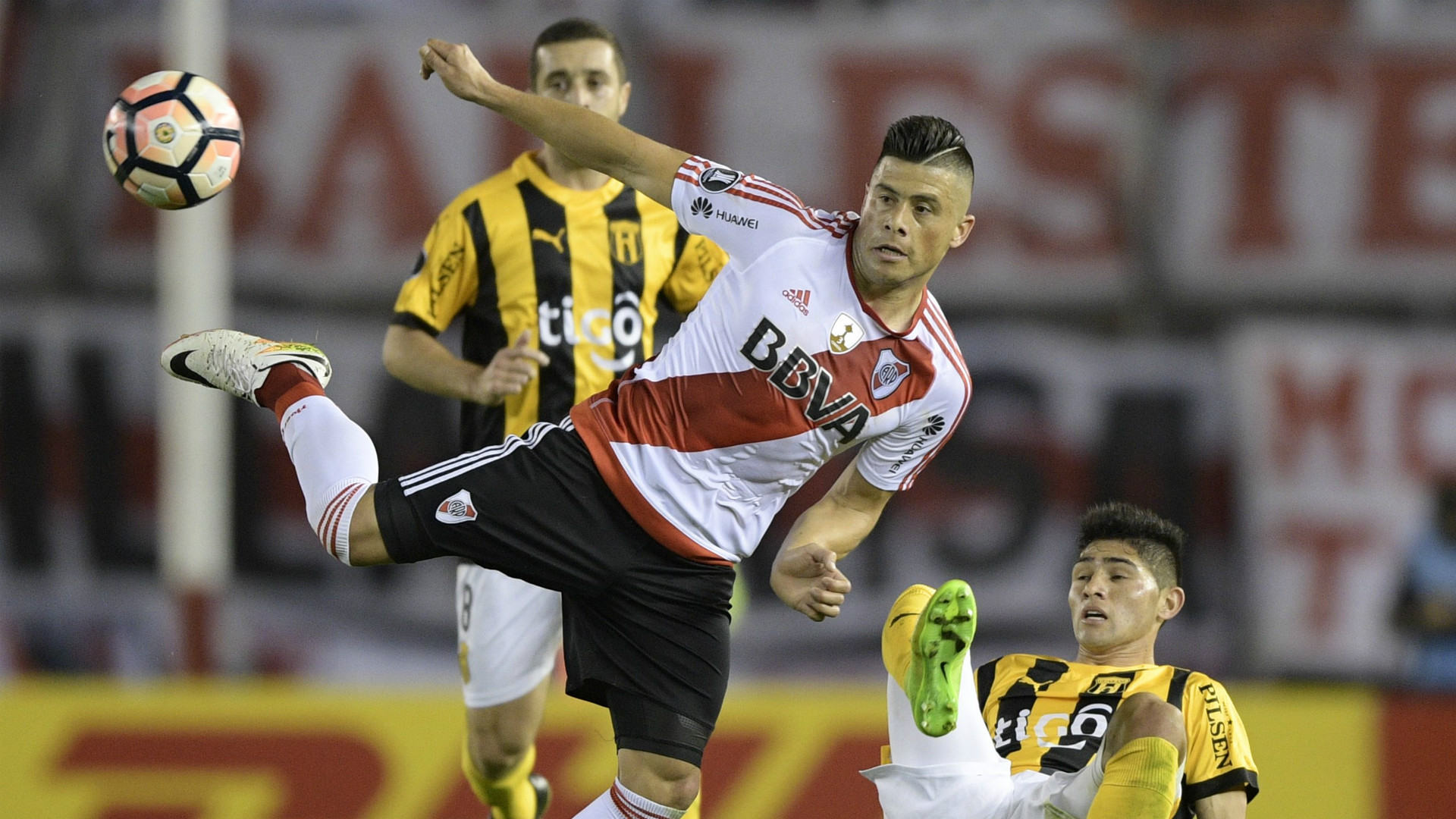 Jorge Moreira River Guarani Copa Libertadores 08082017