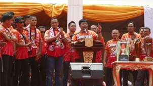Selebrasi Juara Persija Jakarta
