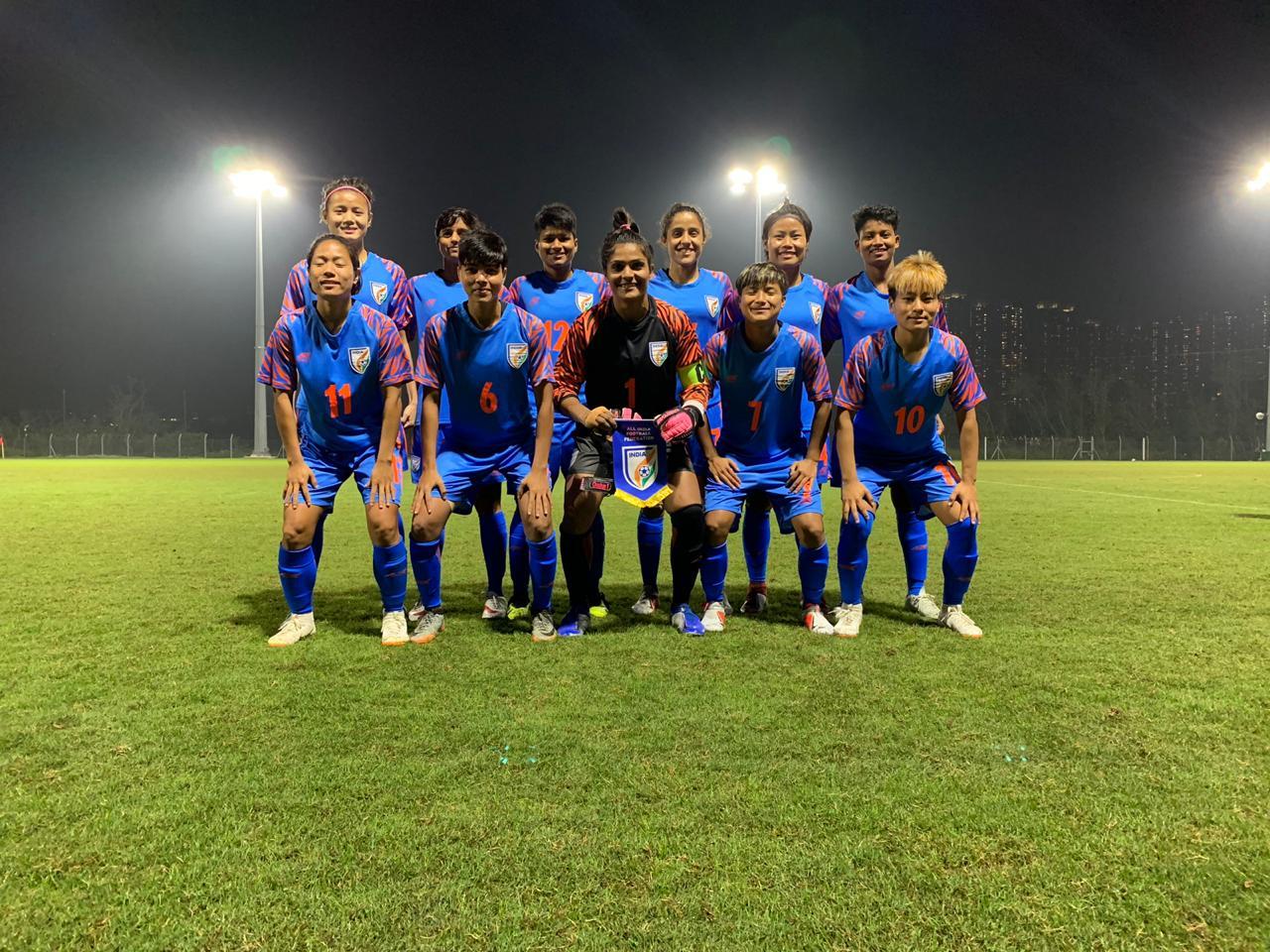 India Women Hong Kong 23 January 2019