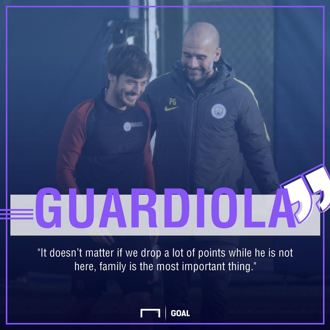 Guardiola quote Silva