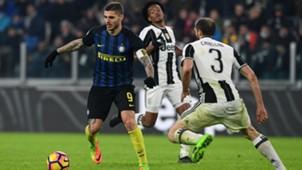 Icardi Chiellini Juventus Inter