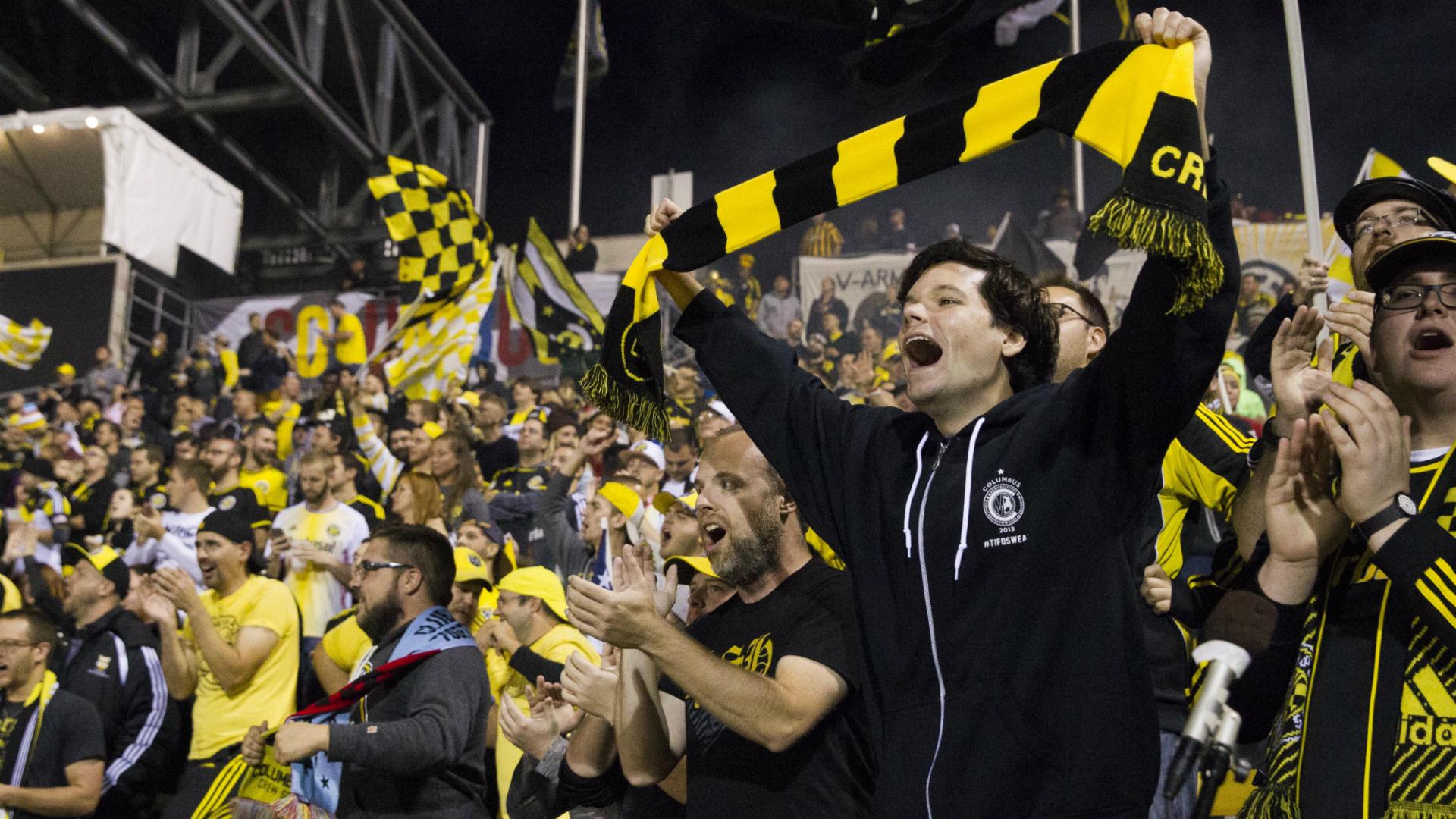 Columbus Crew fans