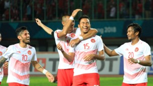 Selebrasi Gol Ricky Fajrin - Indonesia U-23 Asian Games