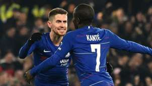 Jorginho N'Golo Kante Chelsea 2018-19