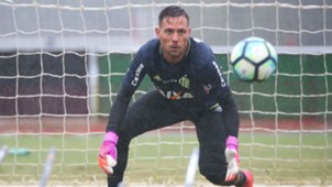Diego Alves Flamengo treino 18 07 2017
