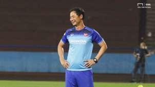 Coach Kim Han-yoon U23 Vietnam at Viet Tri Stadium