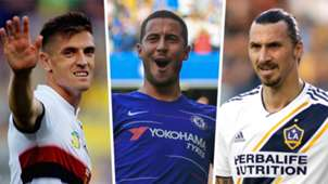 Piatek Hazard Ibrahimovic Madrid striker options
