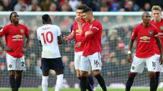 Sadio Mane Marcos Rojo Man Utd vs Liverpool 2019-2020