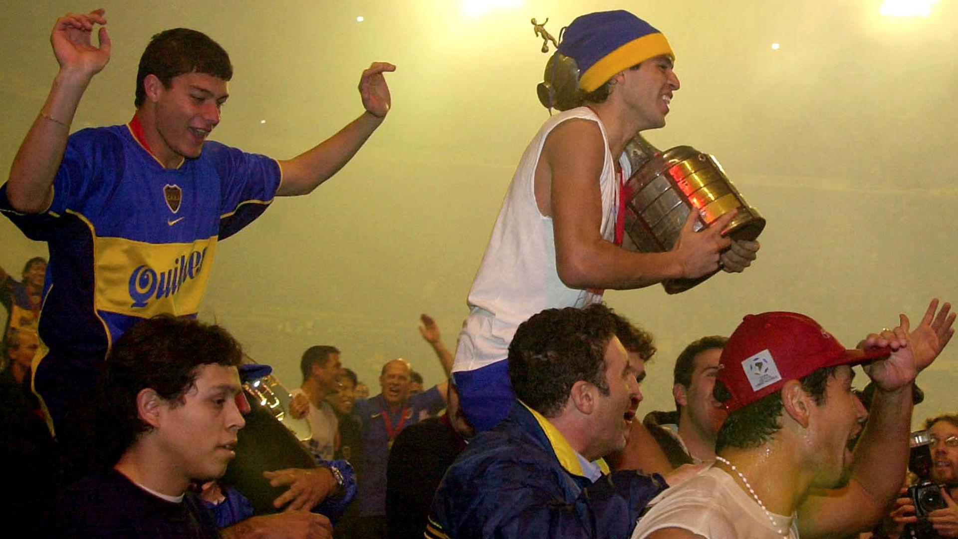 Juan Roman Riquelme Boca Juniors Copa Libertadores