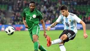 Ahmed Musa vs Argentina