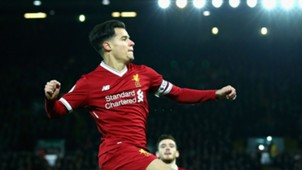 Philippe Coutinho Liverpool Swansea