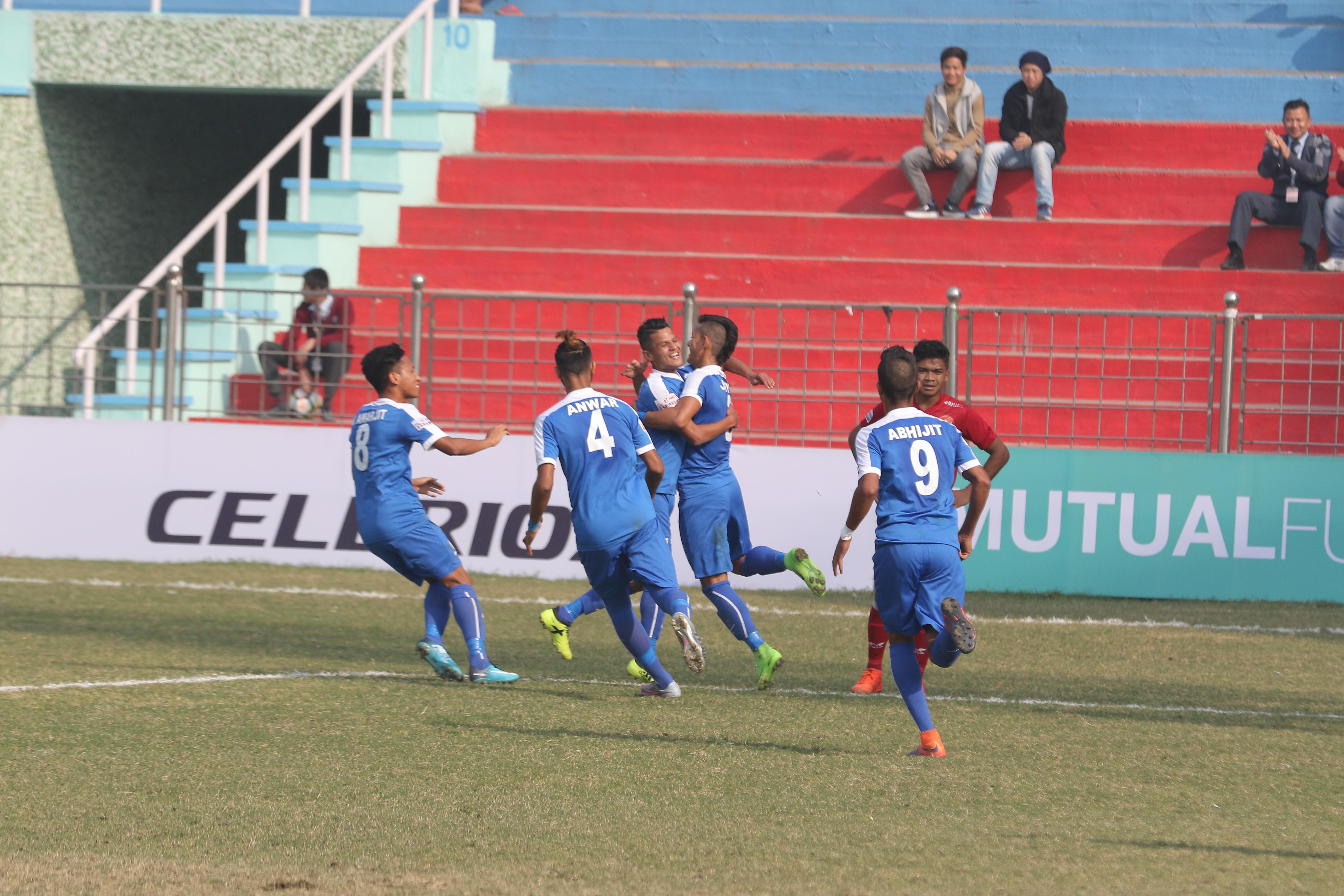 Indian Arrows Shillong Lajong I-League 2017/18