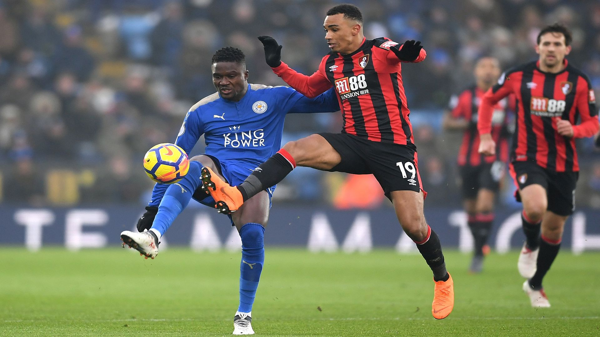 Leicester boss Puel happy to snatch point against Bournemouth