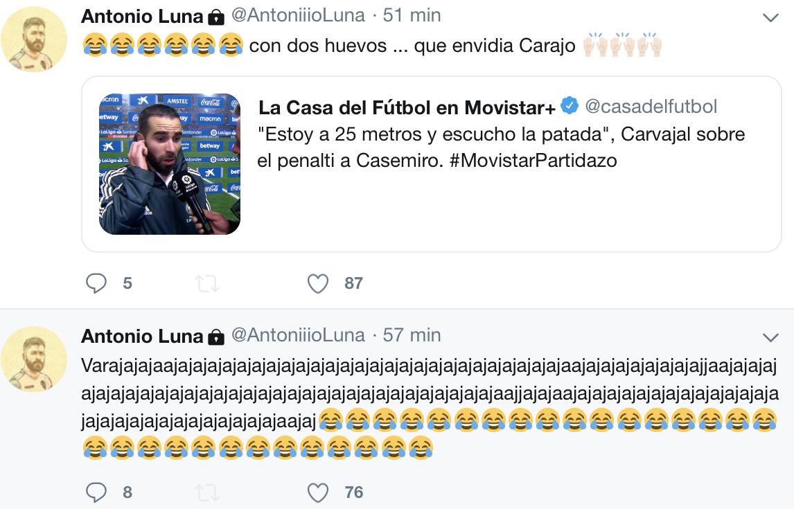 Antonio Luna penalti Casemiro