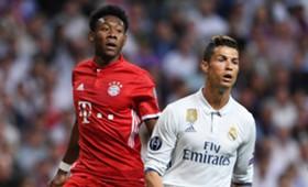 *GER ONLY / NO GALLERY* David Alaba Cristiano Ronaldo