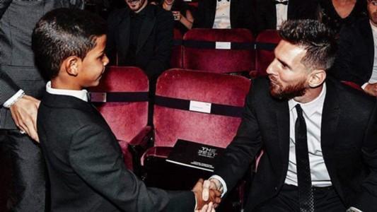 Ronaldo Juniors Leo Messi