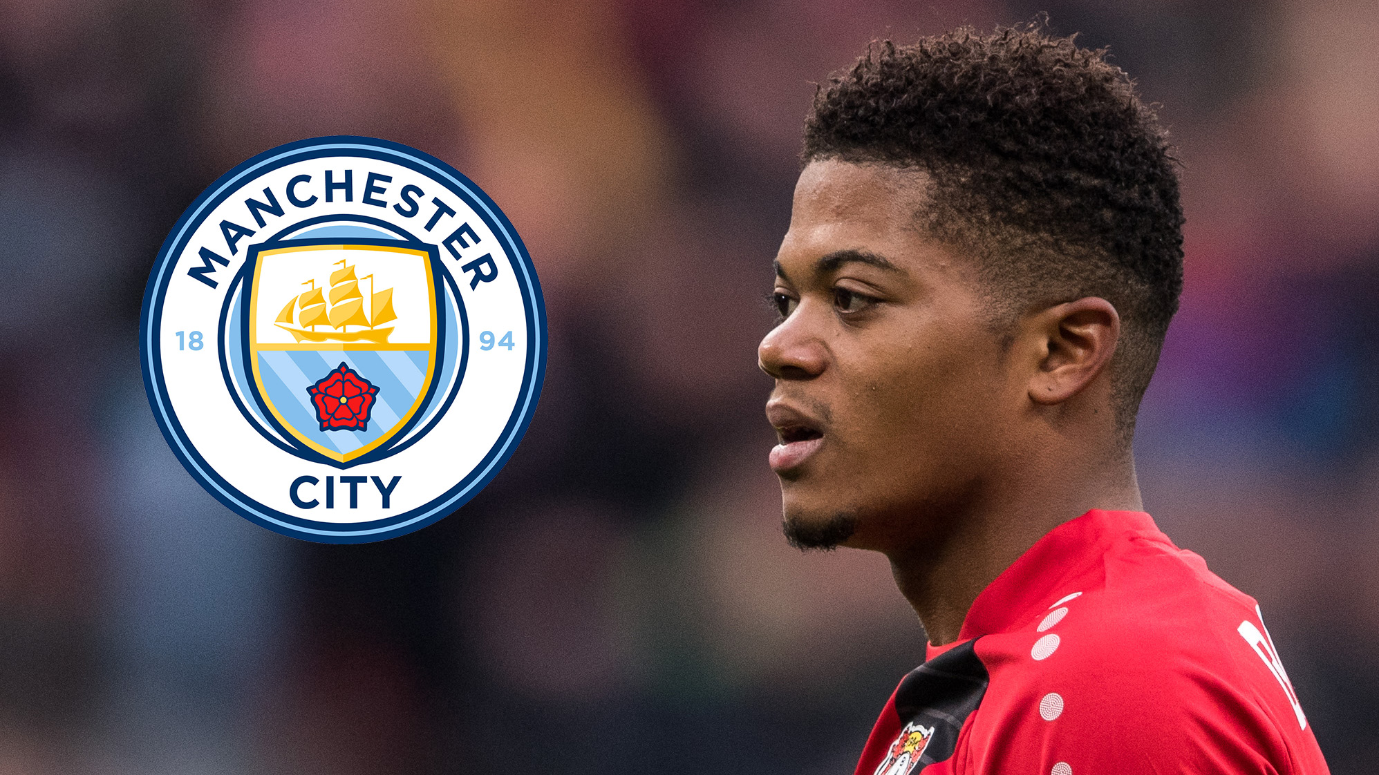 Leon Bailey Manchester City
