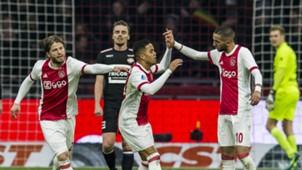 Ajax - Willem II, Eredivisie 12242017