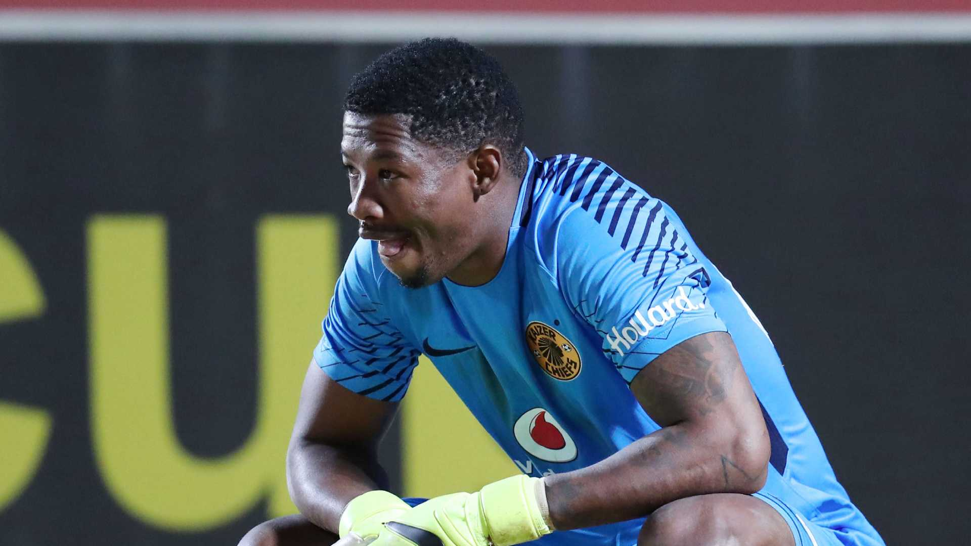 Virgil Vries of Kaizer Chiefs, August 2018