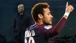 GFX Neymar Zinedine Zidane