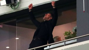 Diego Simeone Atletico Madrid Europa League