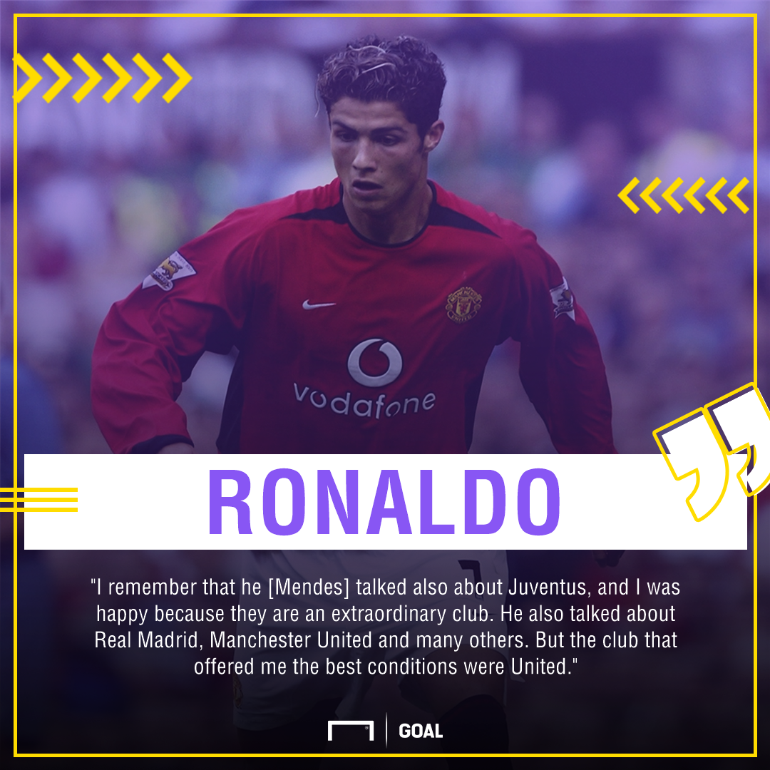 Cristiano Ronaldo why Manchester United Juventus Real Madrid