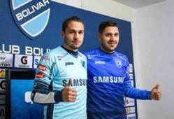Fernando Laforia y Felipe Rodríguez