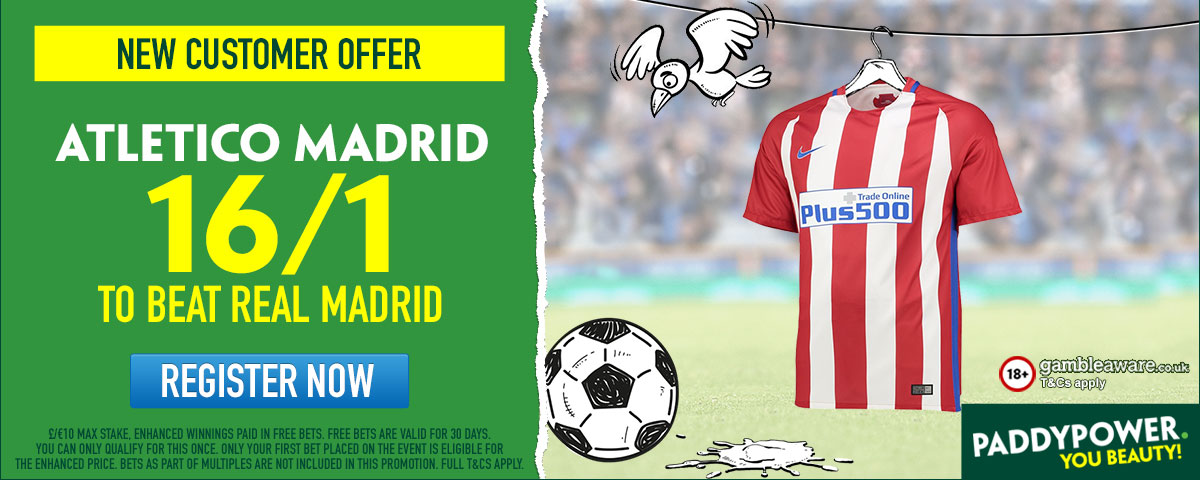GFX Real Madrid Atletico Madrid enhanced betting