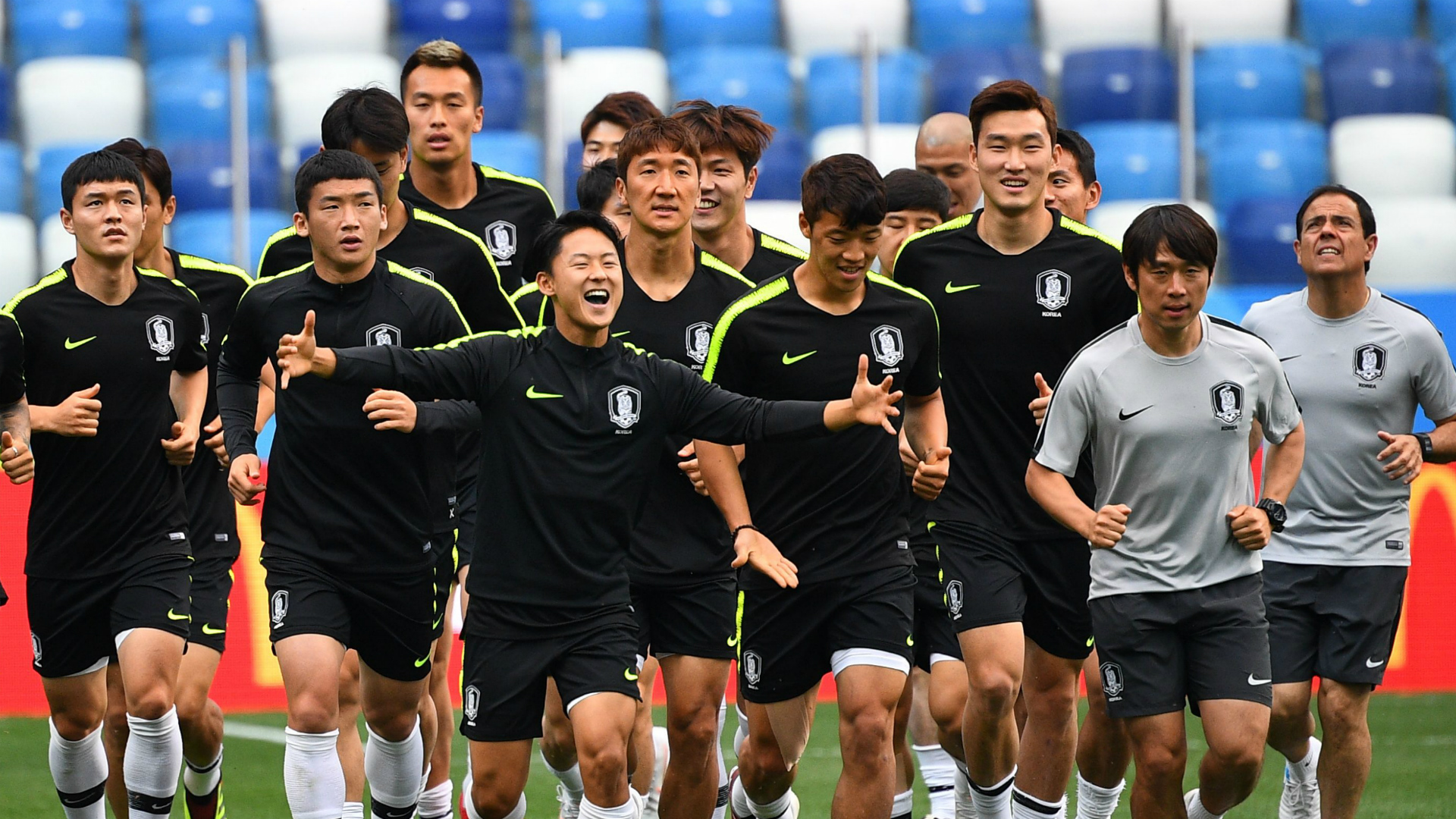 Korea set to use back 4 vs. Sweden