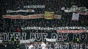 ONLY GERMANY Fans Eintracht Frankfurt RB Leipzig Bundesliga