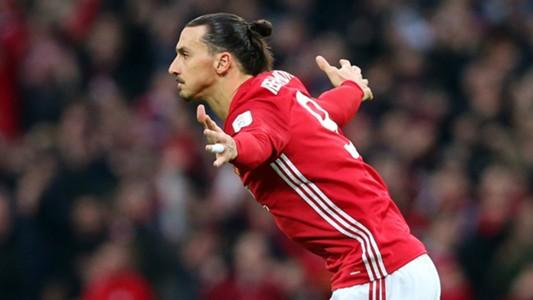 Zlatan Ibrahimovic Manchester United 2017