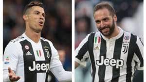 Cristiano Ronaldo Gonzalo Higuain - Juventus