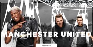 Manchester United Away Shirt Trikot 2017/18 Offiziell