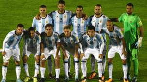 XI Argentina vs Uruguay Eliminatorias 31082017